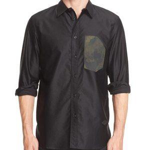 Rag & Bone Contractor Camo Button Down Shirt